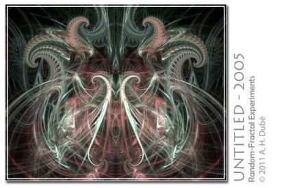 Untitled - 2005 | A Random Fractal Experiment